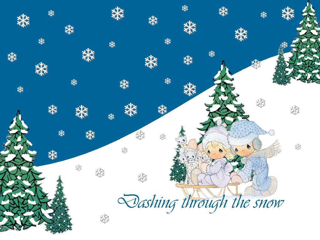 precious moments christmas desktop wallpaper